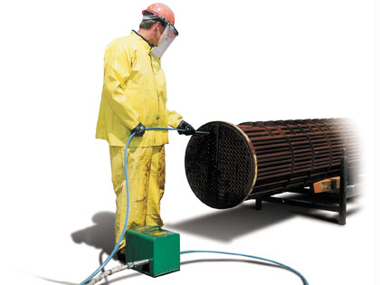High Pressure Water Jet Pipe & Tube Cleaning - Industrial