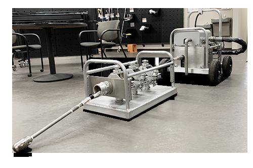 rhd rotary hose device
