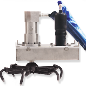 Spin-Jet Grate Mounted
