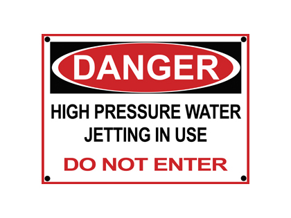 Paint Booth Rental >> Danger Sign | NLB Corporation