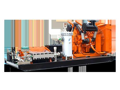 1005 Series Diesel Water Jet Pump System