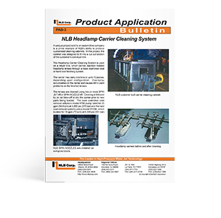 Product Application Bulletin 3
