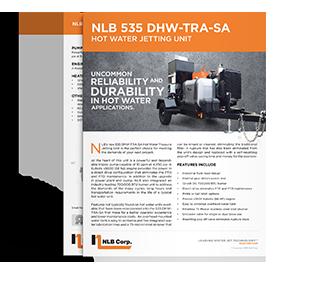 Refurbished Water Jetting Equipment | NLB Corporation