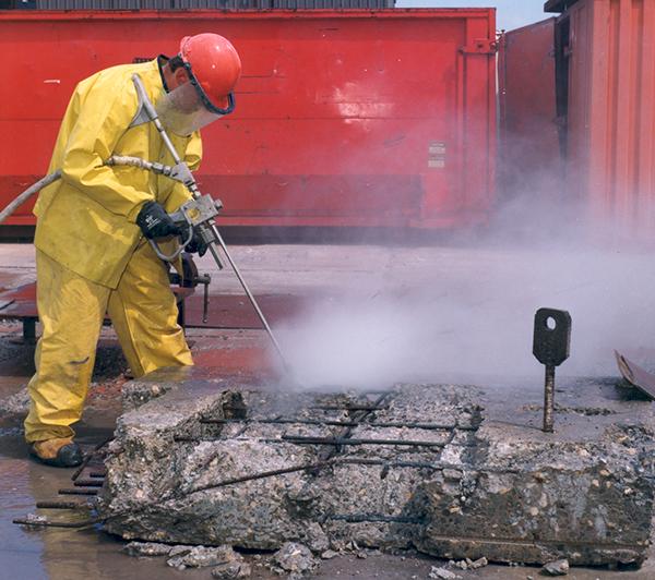 High Pressure Water Jet Hydro Cutting Concrete Nlb Corporation